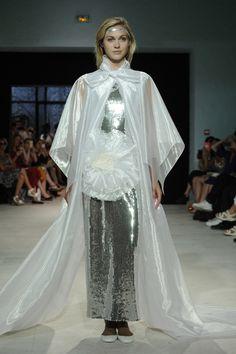 Pierre Cardin Couture Fall 2016 Sparkles Glitter, Pierre Cardin, Fall 2016, Backstage, Catwalk, Fashion News, Autumn Fashion, Sari, Couture