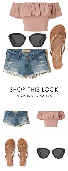 """🌴🌴🌴"" by kitkat308 on Polyvore featuring Hollister Co., Miss Selfridge, Aéropostale and Prada"