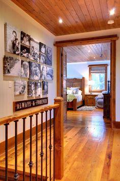 Wooden Rustic Hallway Designs