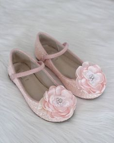 205 best kailee p shoes flower girl shoes images on pinterest in girls shoes dusty pink rock glitter maryjane flats with silk flower mightylinksfo