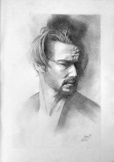 Man_04 by Miro Zgabaj   https://www.facebook.com/pages/Miroslav-Zgabaj-Drawing-Painting/114161501988357?ref=aymt_homepage_panel