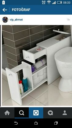 Interior 18 Superb Bathroom Cabinet For Vessel Sink Bathroom Cabinets Wall Mount White Bathroom Cabinets, Bathroom Furniture, Bathroom Storage, Bathroom Interior, Small Bathroom, Diy Furniture, Furniture Storage, Diy Storage, Storage Ideas