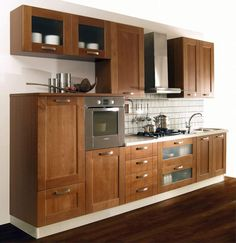 Woodworking Projects, Diy Projects, Kitchen Queen, New Kitchen Cabinets, Interior Design Kitchen, Home Kitchens, House, Kitchenettes, Pantries