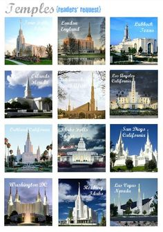 General Conference Packet - Temple Memory Game