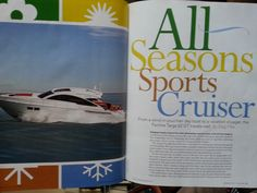 All Seasons Sports Cruiser - Article by Knots and Boats