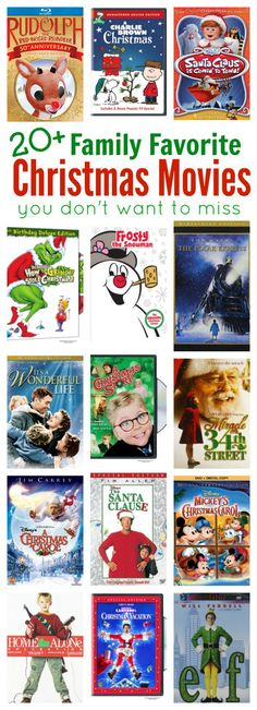 Make watching Christmas movies a tradition for your family this holiday season. It's a great way to get into the holiday spirit.  kid movies | family friendly movies | Christmas classics
