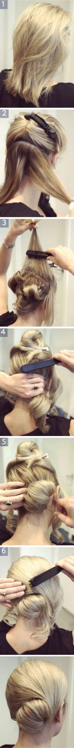 cute easy hair!