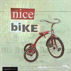 Nice Bike by Jason Kotecki 3/100 of #ArtYear2016 #TinkerProject #motorcycle #art #painting #harleydavidson