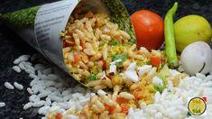 Jhal Muri Spicy Puffed Rice Salad