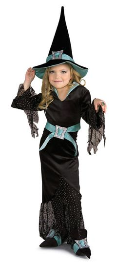 About Costume Shop Ave Witch Costume - Ave Diamond Witch Child CostumeHigh Society Sorceress!Costume includes: Dress, hat, shoe covers and belt, with jeweled buckle accents. Teen Girl Costumes, Halloween Costumes For Teens, Children Costumes, Halloween Carnival, Deer Costume, Witch Costumes, Captain Marvel Halloween Costume, Cute Sweater Outfits, Costume Shop