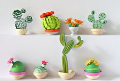 Cactus - Quilled Creations Quilling Gallery