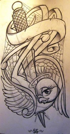Risultati immagini per dagger tattoo design Half Sleeve Tattoos Sketches, Tattoo Sketches, Tattoo Drawings, Art Sketches, Flash Art Tattoos, Sketch Tattoo Design, Forearm Tattoo Design, Prison Drawings, Monkey Tattoos