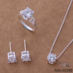AS045 silver plated, silver jewelry set, fashion jewelry set  /fsaaojha hemapvta