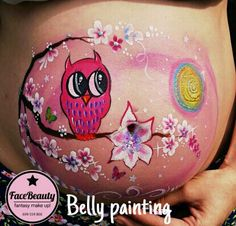 Belly painting Murcia