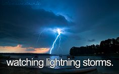 little reasons to smile : lightning storms
