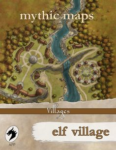 Elf Village Cover by arsheesh
