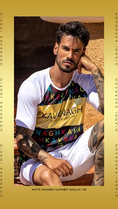 Always looking for that one Tee that will make you stand out from the crowd? We have it! What do you think about this amazing White Winners Alphabet Raglan Tee? We're in love 😍 Find it now by clicking here! Raglan Tee, Streetwear Fashion, Crowd, Alphabet, Street Wear, Tees, Amazing, How To Make, T Shirt