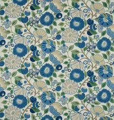 Tree Poppy Fabric DVIPTR204 Designer Fabrics and Wallpapers by Sanderson, Harlequin, Morris, Osborne, Little And many more