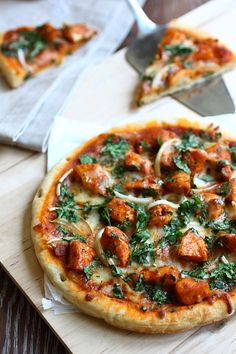 Chicken Tikka Masala Pizza - Here is my Chicken Tikka Masala Pizza recipe, using a store-bought pizza crust. The ingredients list is lengthy and the method is long, but I assure you that the end result is rewarding.