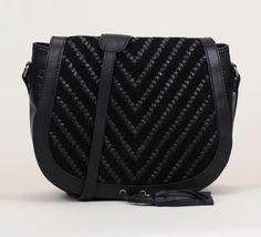 sac cuir noir franges i code by ikks prix sacs nat nin monshowroom sacs main pas. Black Bedroom Furniture Sets. Home Design Ideas