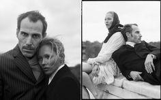 Kate Moss - fab couple styling