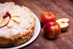 Yorkshire Wensleydale & Cranberries and Apple Cake
