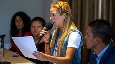 Lilian Tintori agradeció la carta abierta de Luis Almagro Usted es amigo de Venezuela porque defiende la justicia - Infobae.com