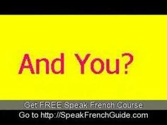 Learn To Speak French    Madeline