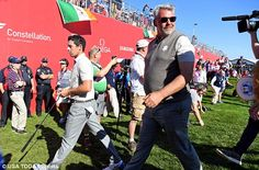 Captain Clarke will be delighted with what he's seeing from his countryman  Read more: http://www.dailymail.co.uk/sport/golf/article-3816458/Ryder-Cup-2016-LIVE-standings-team-scores-golf-results-Team-USA-vs-Team-Europe.html#ixzz4Lwc5iQjC  Follow us: @MailOnline on Twitter | DailyMail on Facebook