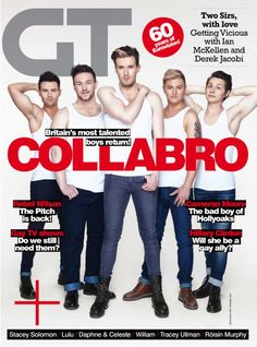 New issue out now featuring Collabro. Available exclusively in digital format before it hits the stores next week...
