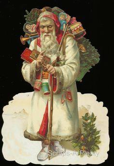 Christmas Santa w Toys