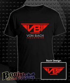 Defiance - Von Bach Industries VBI Logo (T-Shirt) - Outlaw Custom Designs, LLC
