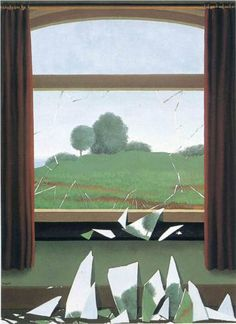 The Key to the Fields - Rene Magritte