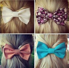 colorful bows for hair