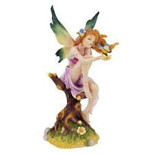 Kiss Of The Butterfly Fairy Statue is a great unique gift for Fairy lovers is a great unique gift for Fairy lovers and Garden Decor. Find great deals for Fairy Statues Figurines and Statuary Fairy Statues, Fairy Figurines, Garden Statues, Collectible Figurines, Butterfly Fairy, Beautiful Fairies, Fairy Art, Faeries, Decoration