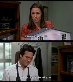13 going on 30 ♡ I bawled during this part!!!