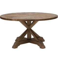 For the look, but in maple with different stain. Opio Round Dining Table 59