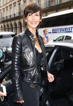 Sophie Marceau au défilé Haute Couture d'Alexandre Vauthier, Juilliet 2015