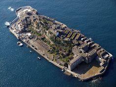 Hashima het eiland uit James Bond film Skyfall