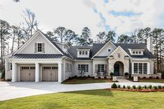 Home Remodeling Exterior MacGregor Downs, Lot 243 « Galleries « Parade of Homes Features Style At Home, Dream House Exterior, Dream House Plans, Dream Houses, House Ideas Exterior, Home Styles Exterior, Dream Home Design, My Dream Home, Parade Of Homes