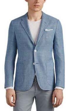 68051de5d Barneys New York Men's Silk Tweed Sportcoat - Gray in 2019 ...