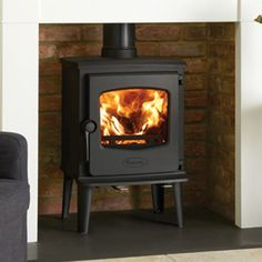 Stoves   Wood & Multifuel   Dovre 525 Cast Iron Stove