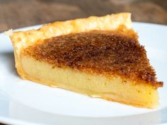 Vinegar pie sounds unusual, but it's been around for quite some time! Oven Recipes, Tart Recipes, Baking Recipes, Vinegar Pie, Birthday Dinner Recipes, Colonial Recipe, Easy Desserts, Dessert Recipes, Cooking Panda