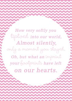 Miscarriage/Stillborn/Infant/Child Memorial by LemonsThatArePink