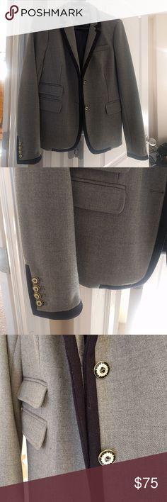 Jcrew schoolboy hacking blazer Size 8 excellent condition. JCrew Jackets & Coats Blazers