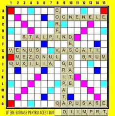 PĂTRĂŢICĂ-blog-Petrică-Aidimireanu: SCRABBLE: Partida 11 - Turul 12 Scrabble, Blog