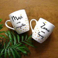 Kubki na slub #kubkinazamowienie#komodapomyslow #slub #wesele #zona#maz #mazwiewszystko #zonawielepiej#wife #husband #wedding #mug#weddingmugs #weddingidea #gift#pomyslnaprezent #ehemann #ehefrau Mugs, Friends, Business, Tableware, Husband, Amigos, Dinnerware, Tumblers, Tablewares