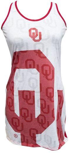 Women's Oklahoma Sooners Cameo Nightgown Oklahoma Sooners, Nightgown, Gowns, Stylish, Big, Tees, Fashion, Vestidos, Moda