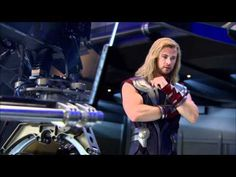 The Avengers: Behind the Scenes Footage Part 1