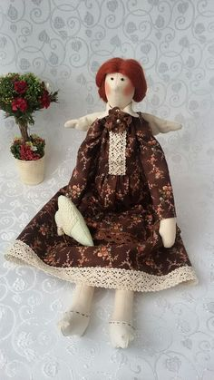 Tilda doll Angel family happiness. by WorkshopTextileDolls on Etsy
